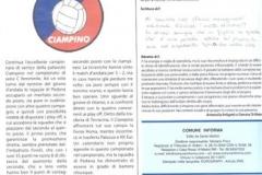 Comune Informa Fine Girone andata 2010-11